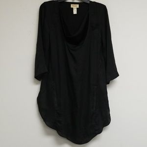 Diesel Black Long Sleeve Dress Size S
